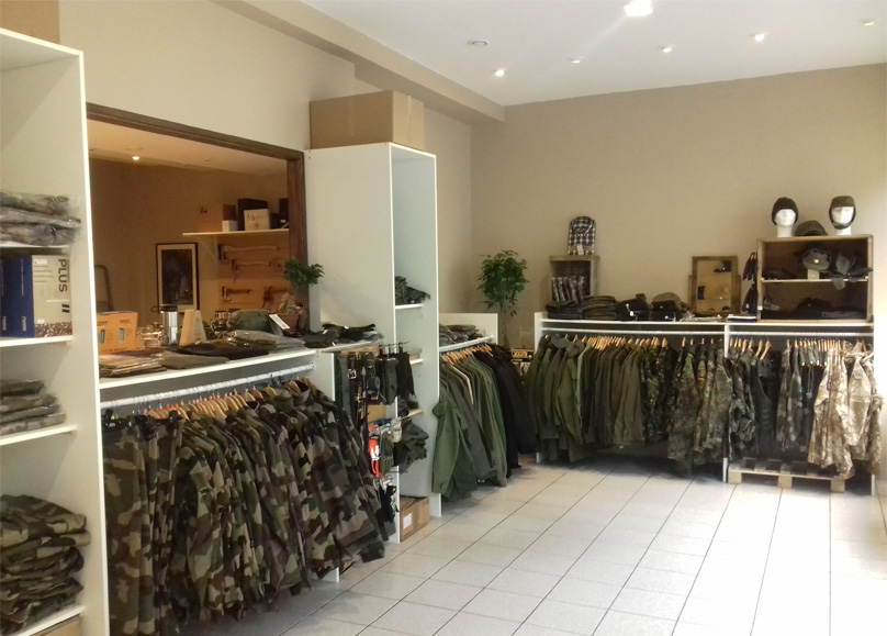 Vercamp surplus militaire bourges 4