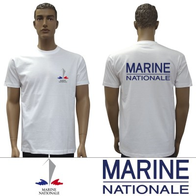 t-shirt-blanc-marine-nationale